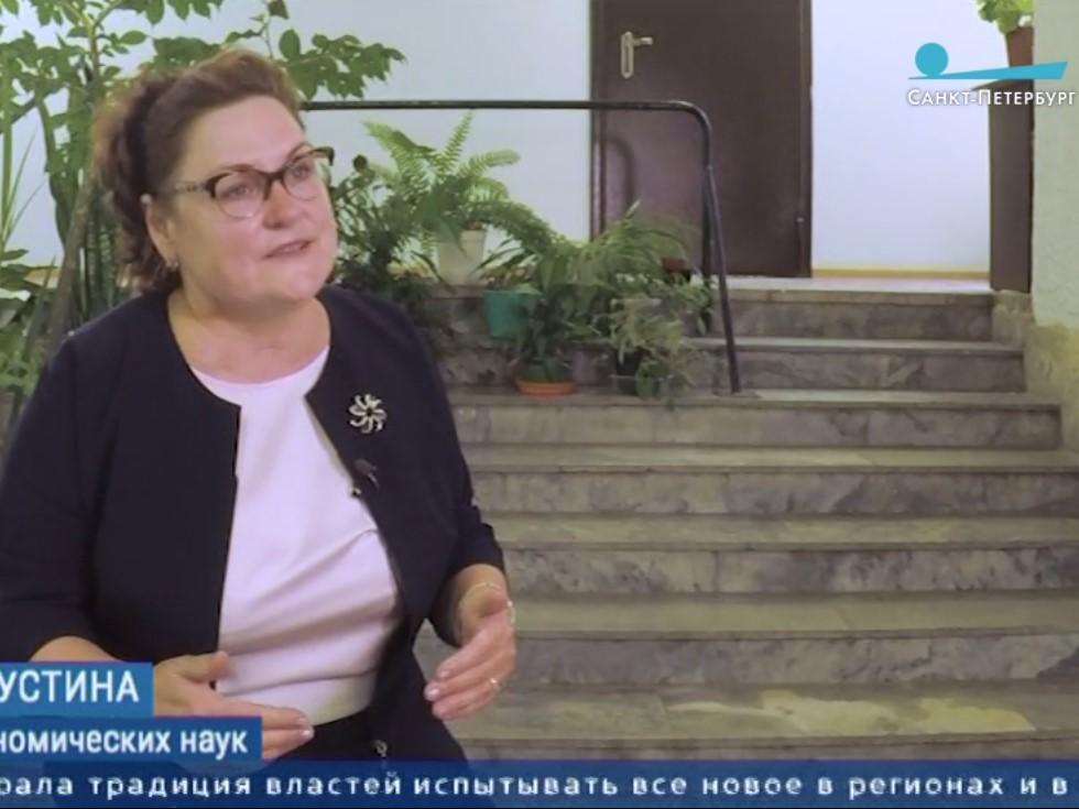 Директор ВШСТ дала интервью телеканалу